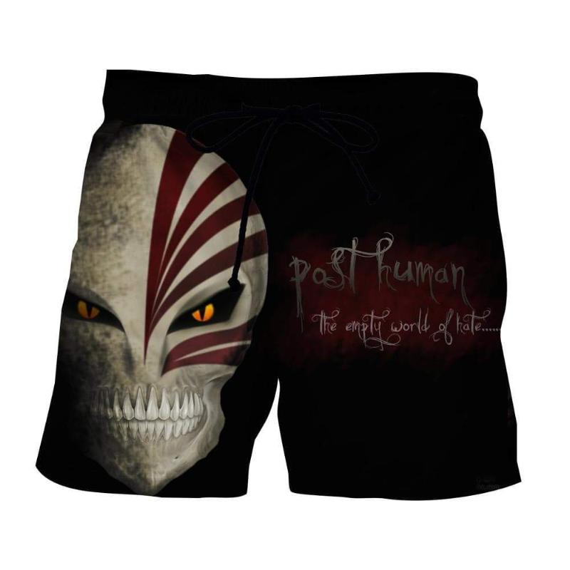 Bleach Hollow Mask-2 3D Printed Polyester Shorts