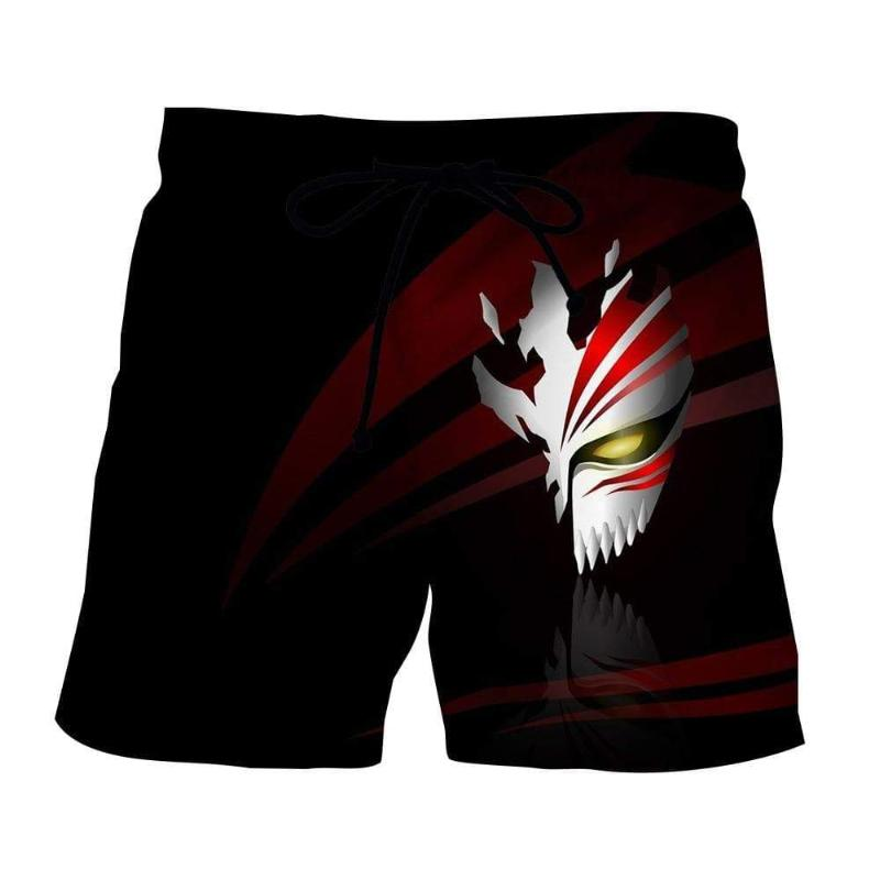 Bleach Hollow Mask 3D Printed Polyester Shorts