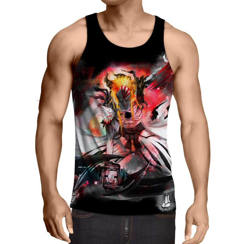 Bleach Ichigo Hollow Form 2 3D Printed Bleach Anime Tank Top