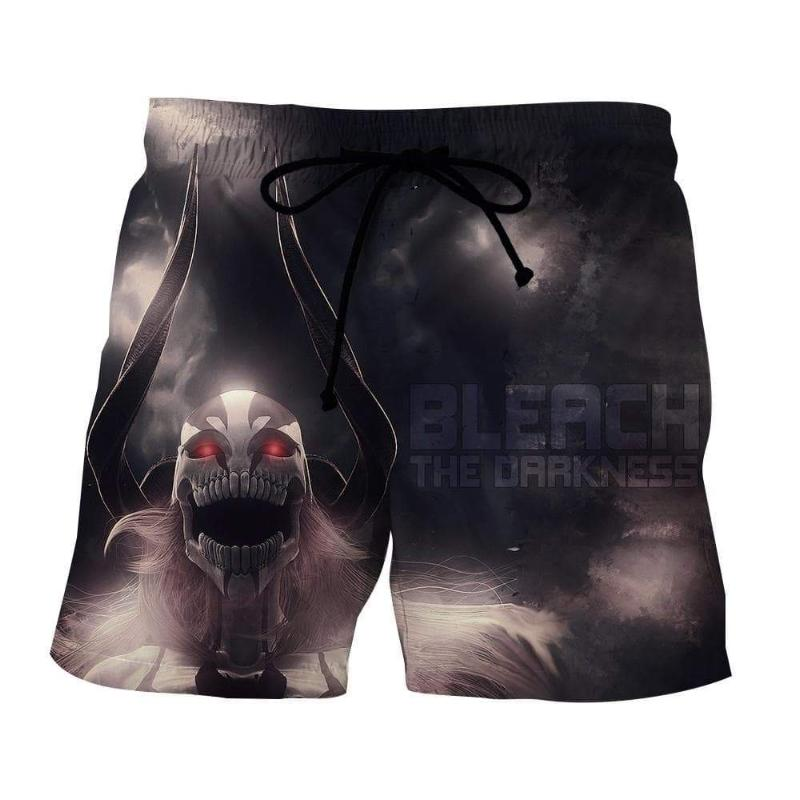 Bleach Lorde Vasto Black 3D Printed Polyester Shorts