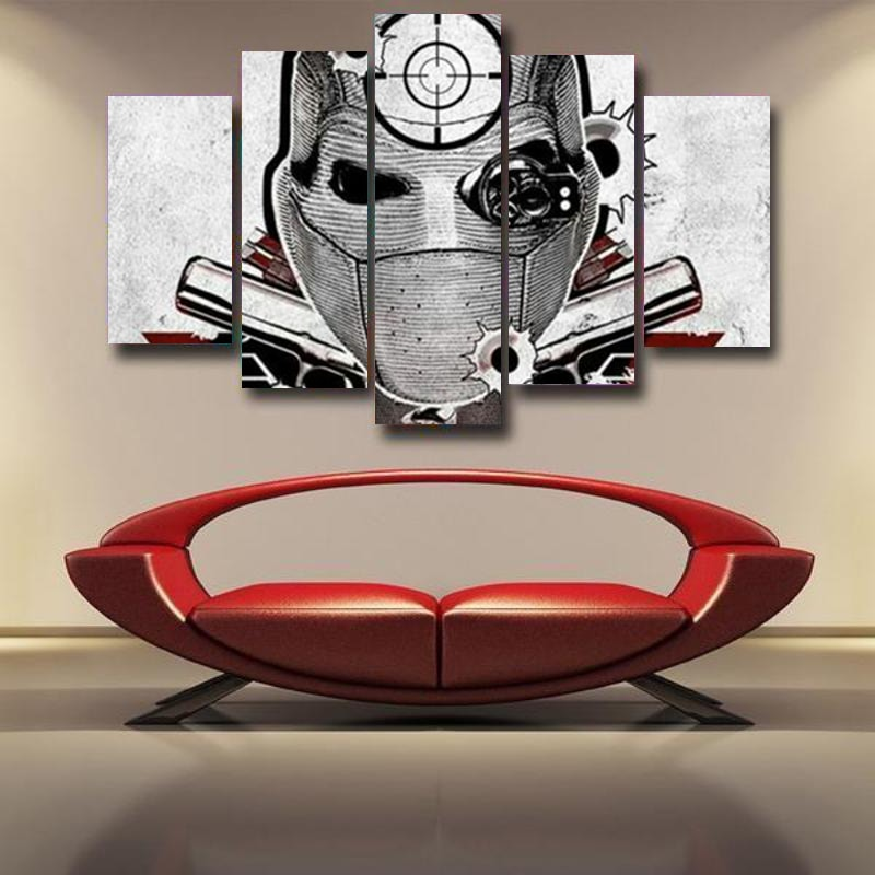 Deadshot Canvas Wall Art Print