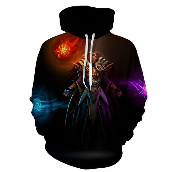 Invoker Vestige of the Arsenal Magus 3D Printed Invoker Hoodie