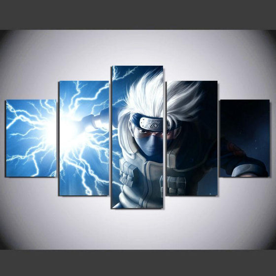 Kakashi Naruto Wall 3D Printed Canvas