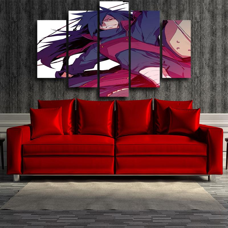 Madara Uchiha Naruto Canvas