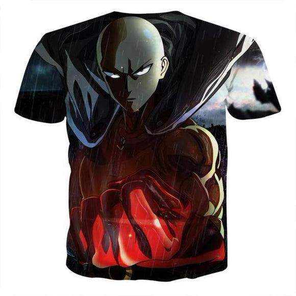 One Punch Man Darken Genos 3D Printed One Punch Man T Shirt