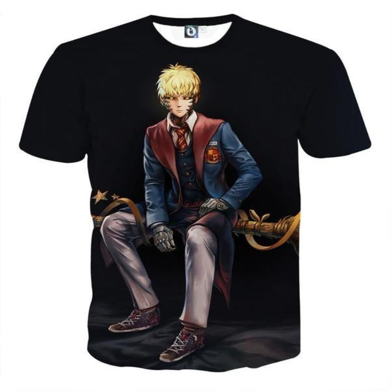 One Punch Man Formal Genos 3D Printed One Punch Man T Shirt