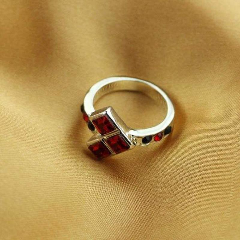 Buy Rhinestones Harley Quinn Ring Online at Best Price Anime VS Heroes