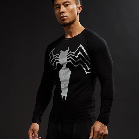 Venom Sleek 3D Printed Venom Long Sleeve Shirt