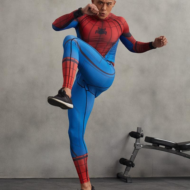 Spiderman Pants New Elastic 3D Printed Spiderman Pant