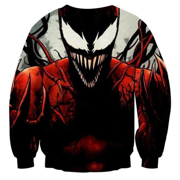 Spiderman Venom 3D Printed Spiderman Sweatshirt
