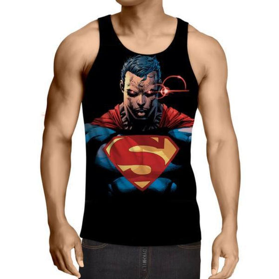 Superman The Alternate 3D Printed Superman Tank Top