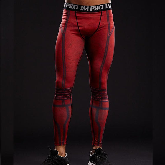 The Flash Red 3D Printed Pants