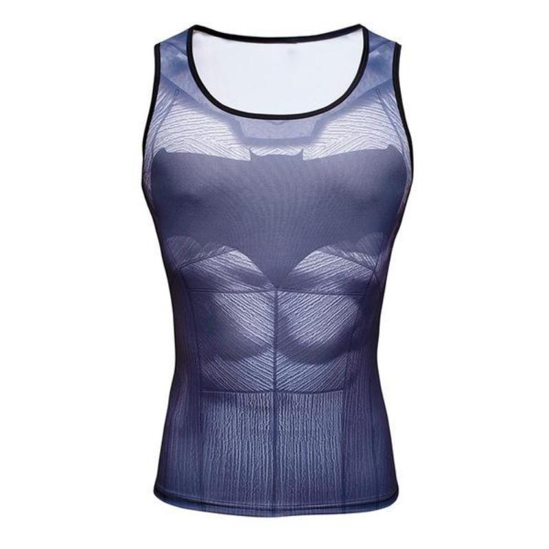 Batman Unisex Batman 3D Printed Tank Top