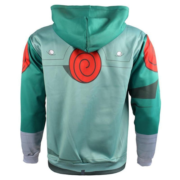 Naruto Shippuden Hoodie Might Guy Cosplay Anime Hoodie