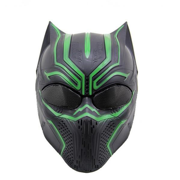 Black Panther Mask Cosplay Animal