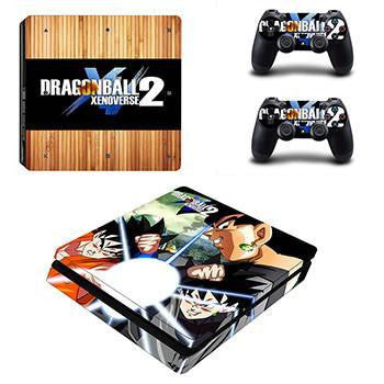 Dragon Ball Z 2 PS4 Sticker For Console And 2 Controller