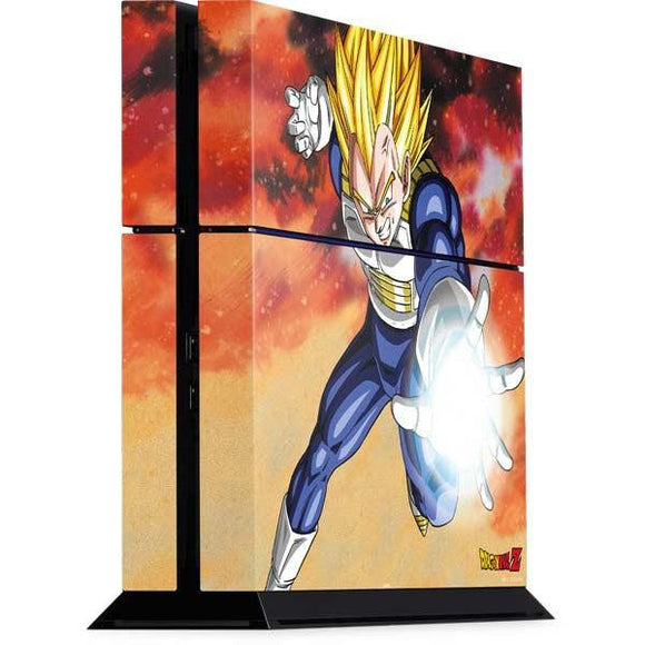 Dragon Ball Z Vegeta Playstation 4 PS4 Console Skin