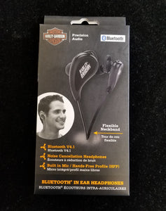 Harley-Davidson Bluetooth In-Ear Noise-Canceling Headphones