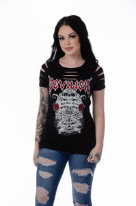 Devilish Bad Girls Club Women's Tee - Made in USA