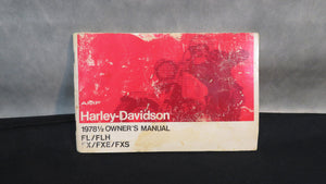 Harley-Davidson Owners Manuals