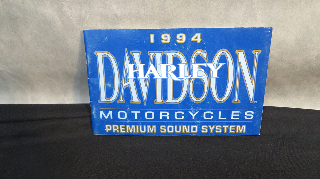 Harley-Davidson Sound System Manual