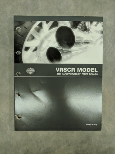 99457-06 Harley-Davidson VRSCR Official Factory Parts Catalog - 2006