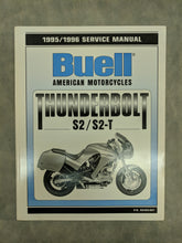 99489-96Y Buell Thunderbolt S2/S2-T Official Factory Service Manual - 1995/1996