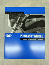 99492-07Y Buell P3 Blast Model - Official Factory Service Manual - 2007