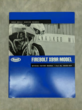 99493-03Y Buell Firebolt XB9R Model - Official Factory Service Manual - 2003