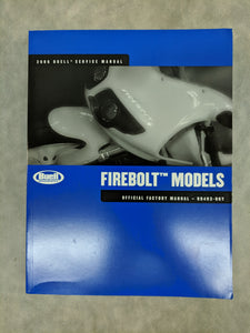 99493-06Y Buell Firebolt Models - Official Factory Service Manual - 2006