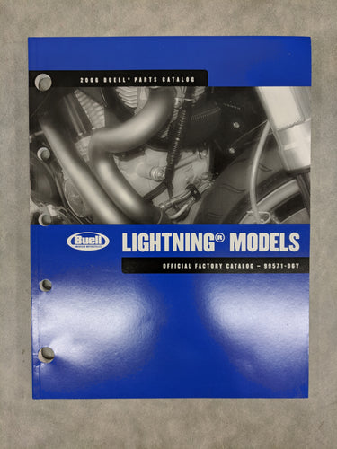 99571-06Y Buell Lightning Models - Official Factory Parts Catalog - 2006
