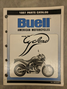 99572-97Y Buell M2 Cyclone Official Factory Parts Catalog - 1997