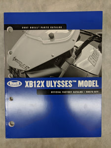 99575-07Y Buell XB12X Ulysses Model - Official Factory Parts Catalog - 2007