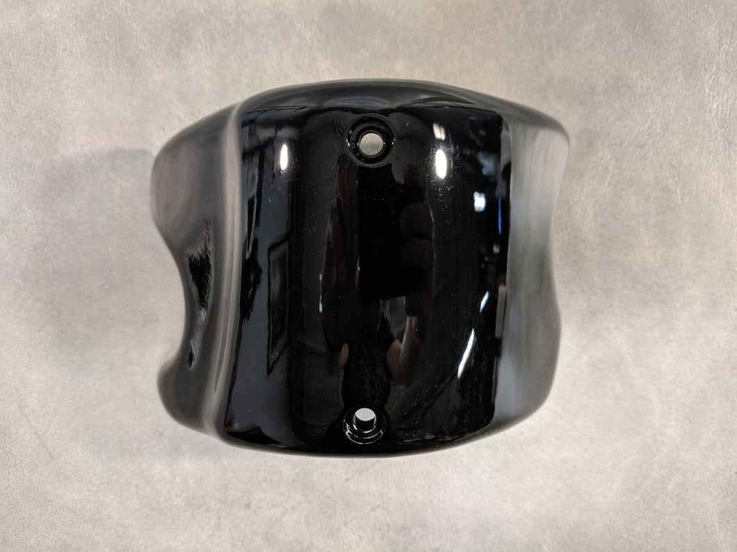 Lower Fairing Cap - Vivid Black, Right Side