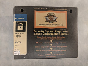 H-D Security System Pager