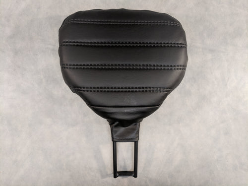 Ribbed Pattern Pillow Look Rider Backrest Kit