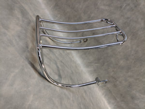 Chrome Bobtail Fender Luggage Rack