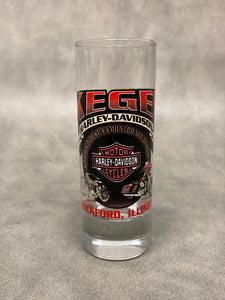 Kegel Harley-Davidson Double Shot Glass