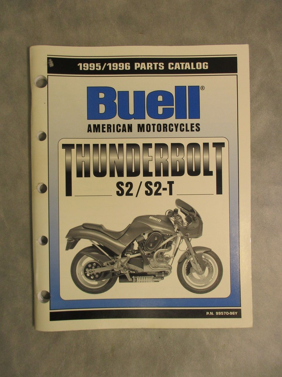 99570-96Y Buell Thunderbolt S2 / S2-T Parts Catalog (1995/1996)