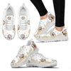 Golden Retriever Women's Sneakers