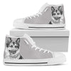 German Shepherd Women's High Top Shoes