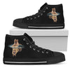 German Shepherd Dream Reflect Water Men's High Top