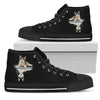 Siberian Husky Dream Reflect Water Women's High Top