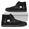 Heartbeat Dog Pomeranian Mens High Top