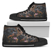 Rottweiler smile Men's High Top