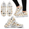 French Bulldog Women's Sneakers