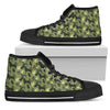 Camouflage Rottweiler Green Women's High Tops