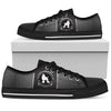 Poodle Men's Low Top Shoe