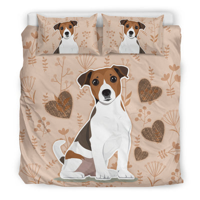 I Love Jack Russell Terriers Bedding Set for Lovers of Jack Russells