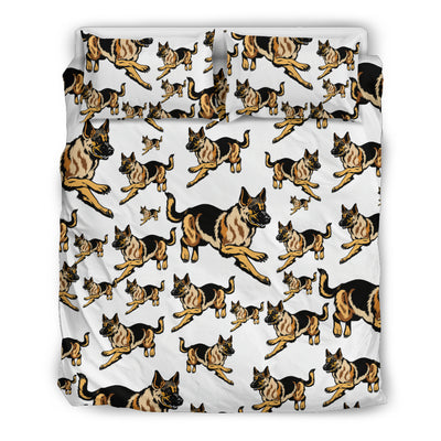 German Shepherd Dog Bedding Set
